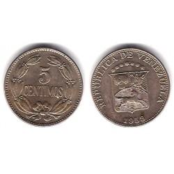 (Y382) Venezuela. 1958. 5 Centimos (EBC+)