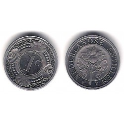 (32) Antillas Neerlandesas. 1996. 1 Cent (SC)