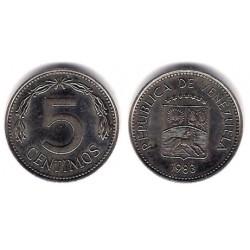 (Y49a) Venezuela. 1983. 5 Céntimos (EBC)