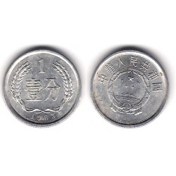(1) China. 1983. 1 Fen (MBC)