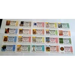 Loteria Nacional. 2014. Año Completo (51 Décimos)