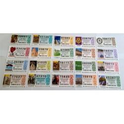 Loteria Nacional. 2016. Año Completo (51 Décimos)