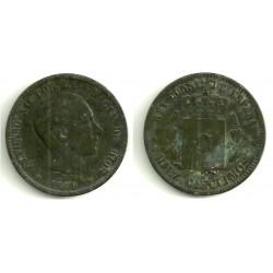 Alfonso XII. 1879. 10 Céntimos (BC) Ceca de Barcelona OM