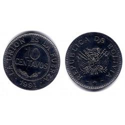 (202) Bolivia. 1991. 10 Centavos (SC)
