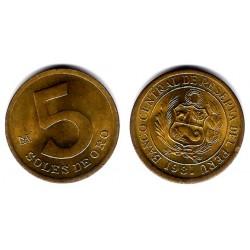 (271) Perú. 1981. 5 Soles de Oro (EBC+)