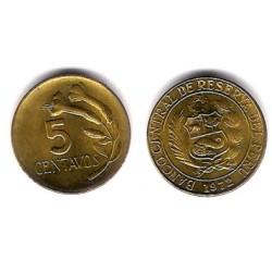 (244.2) Perú. 1972. 5 Centavos (SC)