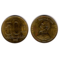 (110) Rumania. 1992. 50 Lei (MBC+)
