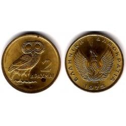(108) Grecia. 1973. 2 Drachma (EBC+)