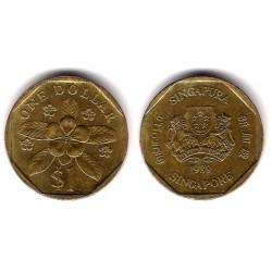 (54b) Singapur. 1989. 1 Dollar (MBC)