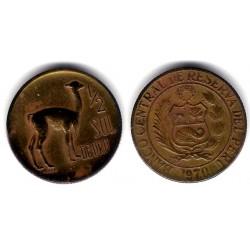 (260) Perú. 1970. ½ Sol de Oro (MBC)