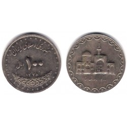 (1267) Irán. 2008. 100 Rials (EBC)