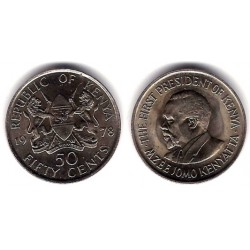 (13) Kenia. 1978. 50 Cents (SC)
