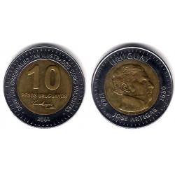 (121) Uruguay. 2000. 10 Pesos (MBC)