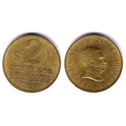 (104.2) Uruguay. 1998. 2 Pesos (MBC)