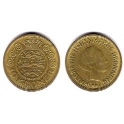 (867.2) Dinamarca. 1993. 10 Kroner (MBC)