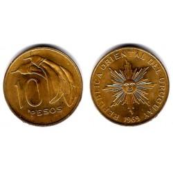 (54) Uruguay. 1969. 10 Pesos (EBC)