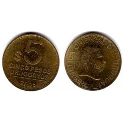 (120.2) Uruguay. 2005. 5 Pesos (EBC)