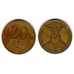 (109) Rumania. 1992. 20 Lei (MBC)
