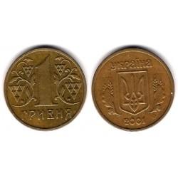 (8b) Ucrania. 2001. 1 Hryvnia (EBC)