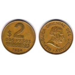 (104.1) Uruguay. 1994. 2 Pesos (MBC)