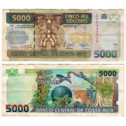 (268a) Costa Rica. 1999. 5000 Colones (BC+)