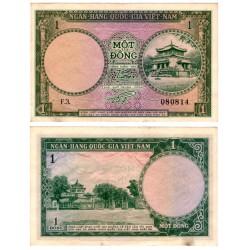 (1a) Vietnam del Sur. 1956. 1 Dong (MBC+)