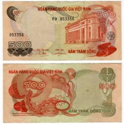 (28) Vietnam del Sur. 1970. 500 Dong (MBC)