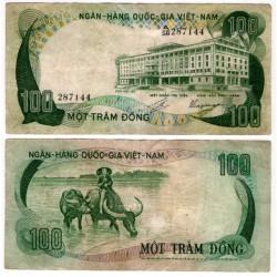 (31a) Vietnam del Sur. 1972. 100 Dong (MBC)