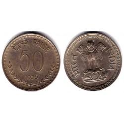 (63) India. 1975. 50 Paise (MBC)