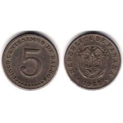 (23.2) Panamá. 1968. 5 Centesimos (BC)