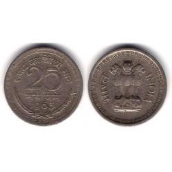 (47.2) India. 1963. 25 Paise (BC+)