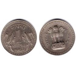 (75.1) India. 1962. 1 Rupee (EBC+)
