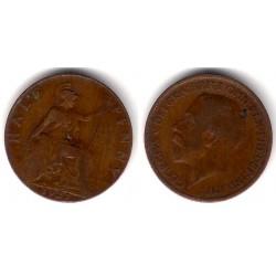 (809) Gran Bretaña. 1921. Half Penny (BC)
