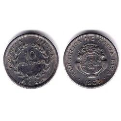 (185.1a) Costa Rica. 1953. 10 Céntimos (MBC)