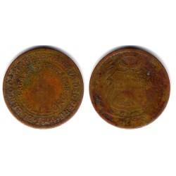 (220.5) Perú. 1944. ½ Sol de Oro (BC-)
