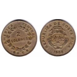(187.2) Costa Rica. 1968. 2 Colones (MBC)
