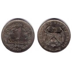 (78) Alemania (III Reich). 1934(A). 1 Reichmark (EBC-)