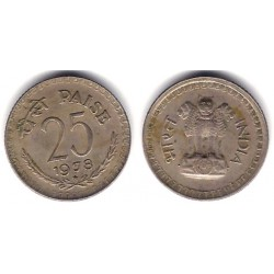 (49.1) India. 1978. 25 Paise (MBC)
