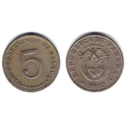 (23.2) Panamá. 1982. 5 Centesimos (MBC)
