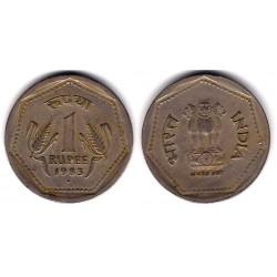 (79.1) India. 1983. 1 Rupee (MBC-)