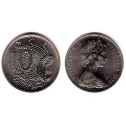 (65) Australia. 1975. 10 Cents (SC)
