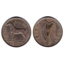 (16a) Irlanda. 1959. Half Crown (MBC)