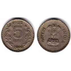 (121.3) India. 2000. 2 Rupee (BC)