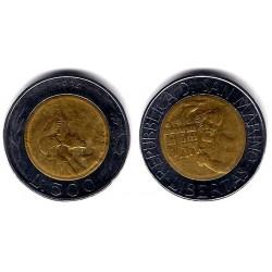 (314) San Marino. 1994. 500 Lira (EBC)