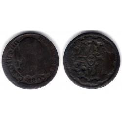 Carlos IV. 1803. 4 Maravedi (RC) Ceca de Segovia