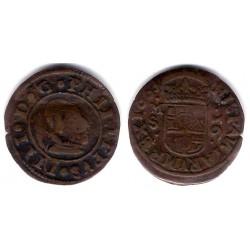 Felipe IV. 1663. 16 Maravedi (BC+) Ceca de Madrid S