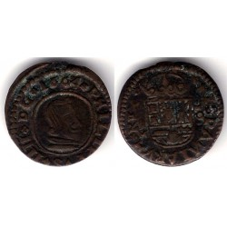 Felipe IV. 1664. 16 Maravedi (MBC)