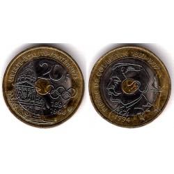 (1036) Francia. 1994. 20 Francs (MBC)
