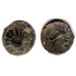 Arse (Sagunto). 100 - 30 a.C. Cuadrante (BC-)