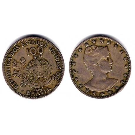 (503) Brasil. 1901. 100 Reis (MBC)